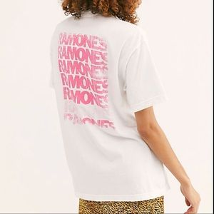 DAYDREAMER BY FREE PEOPLE RAMONES TEE